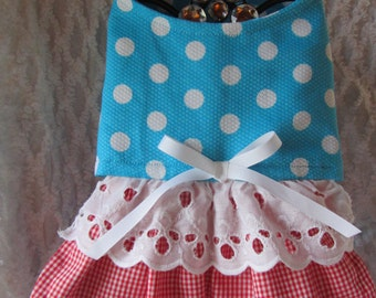 Custom Boutique Raggady Ann Inspired Dog or Cat Dress  XXS, XS, Small or Medium