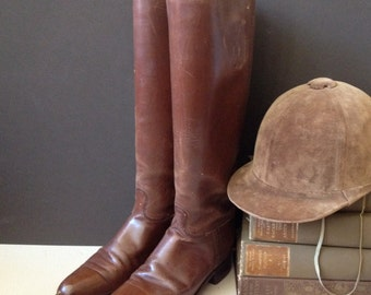 1900 Paris London Manfield & Sons Equestrian Riding Boots