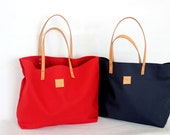 Canvas Tote... SPECIALIZED LABEL...RED tote bag