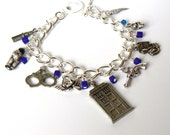 Hello Sweetie Charm Bracelet inspired by River Song