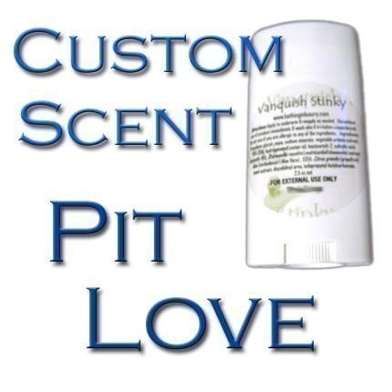 Vegan deodorant - aluminum-free  -select your scent from available choices