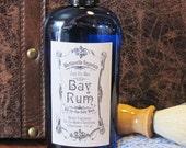 Bay Rum Just for Men All in One Body Wash - Shower Gel - Shampoo - Bubble Bath - Vegan