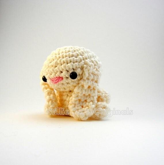 Bitty Bunny Crochet Cotton Plush