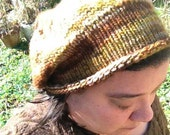 Hand Knit Mushroom Hat Beret Pattern