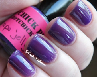 Grape Jelly nail polish - mini