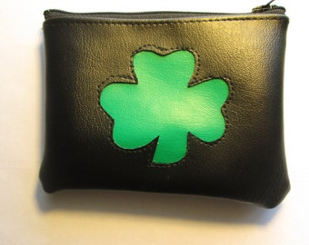 Clover coin purse