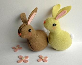 TeenyTiny Bunny Softie (Cocoa)