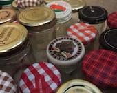 35 small jars