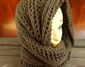 Crochet Infinity Scarf Pattern, Infinity Scarf Crochet Pattern, Crochet Scarf, Crochet Hooded Cowl Pattern, Crochet Cowl Pattern, JOAN