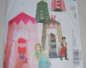 McCall's M5827 Sewing Pattern Play Canopy Playhouse in One Size