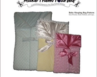 Baby Sleeping Bag Sewing Pattern - emailed
