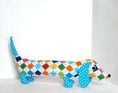 Ready to Ship Stuffed Animal Plush Wiener Dog Plush Childrens Toy INEZ