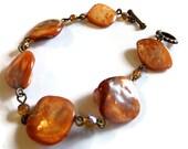 Phoebe Bracelet --Beaded Shell Jewellery