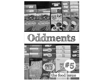 Oddments 5 PDF Zine - The Food Issue (sweets, drinks, Japan)