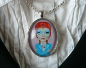 Big Eye Bowie Pendant
