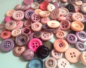 Lot of 75 Vintage Buttons