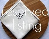reserved custom listing for sadrabbit