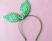 Dolly Bow Headband-Shamrock