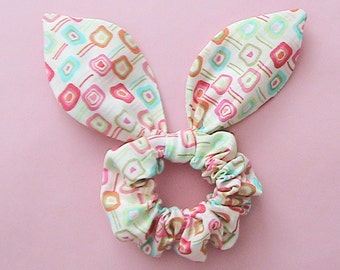 Dolly Bow Scrunchie-Color Block
