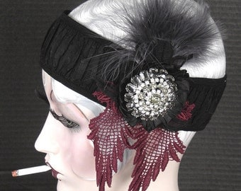 Gatsby Style Fabulous Flapper Headpiece On Sale