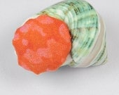 Seashell Pin Cushion for Chatelaine or Pendant