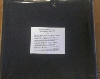 Fray Proof  Duvetyn, 16 Oz. Commando cloth