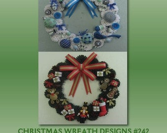 CHRISTMAS Wreaths Quilling kit BRAND NEW 242 makes 2 wreaths