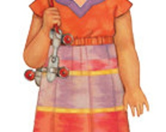 20% Off! Oliver and S PATTERN - Roller Skate Dress and Tunic - Size 6M-4
