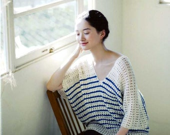 Nice and Cool, Comfortable Knit Clothes - Japanese Craft Book MM