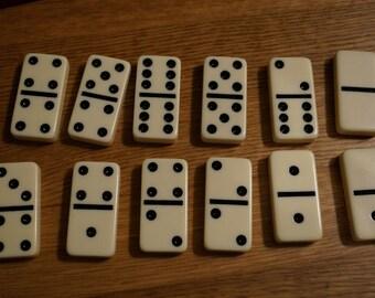 Vintage Dominos For Repurposing
