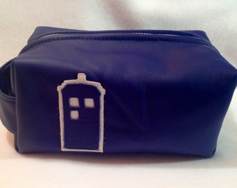 Tardis Leather Box Bag