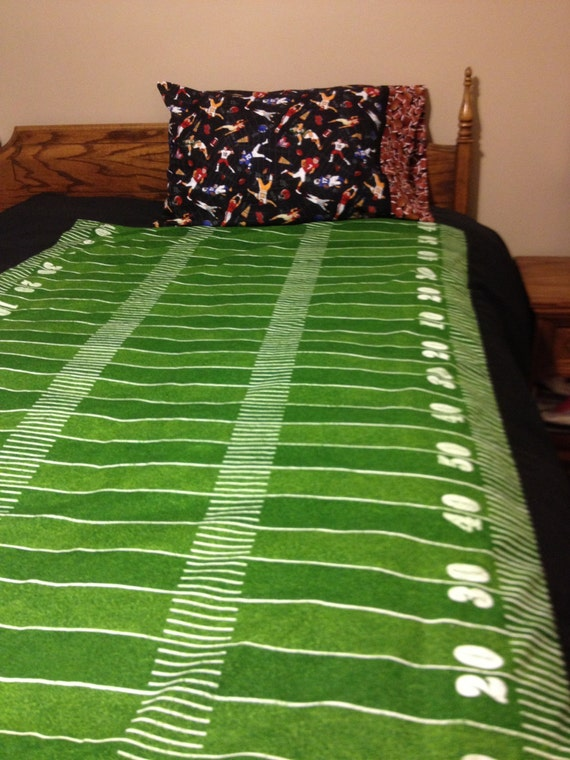 Items Similar To Custom Made Twin Football Field Duvet