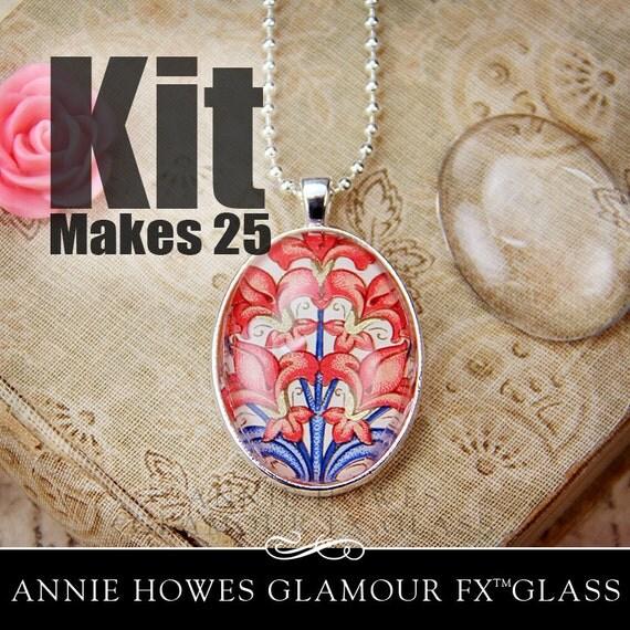 Glass Pendant Jewelry Kits Photo Jewelry Kit Glass