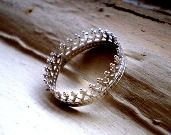 Fit for a Queen - Sterling Silver Ring