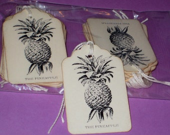 25 The Pineapple  Gift Tags