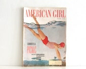 Vintage Magazine American Girl Scouts 60s Teen Mag