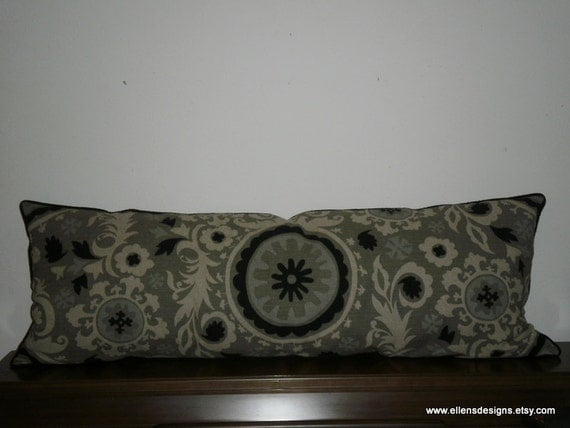 FREE DOMESTIC SHIPPING Decorative Body Pillow Cover 19 X 53