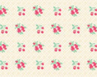 Vintage Summer - By Little Yellow Bicycle - For Blend - Floral - 1 Yard - 8.50 A Yard