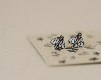 Fruit Fly - Earring Studs