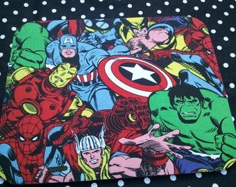 Fabric Computer Mousepad Made With Avengers Fabric Thor Spiderman Ironman Hulk Captain America