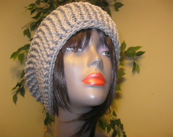 Crocheted Slouchy Hat-made to order