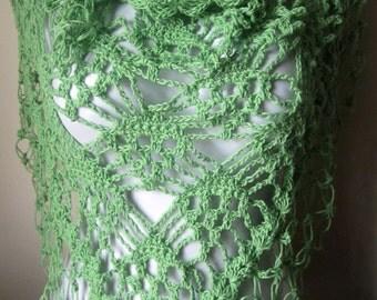 Crochet shawl, wrap scarf, shawl scarf, scarves, scarf fringe, scarf shawl, neck scarves, stoles, crocheted shawls, crocheted scarves,