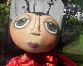 Primitive Ladybug INSTANT DOWNLOAD PATTERN Lola #150 Hafair Faap