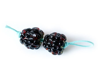 Raspberry Earring set
