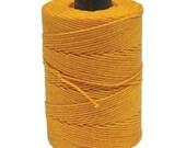 Special Irish Waxed Linen Thread Crawford Cord 4 Ply 1 Spool (100 Yards) AUTUMN YELLOW  420449-sp
