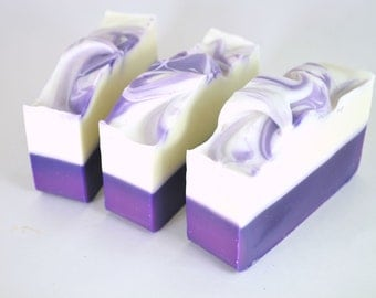 Lavender Soap - Natural Soap - Handmade Soap - Cold Process Soap - Shea Butter Soap - Vegan Soap