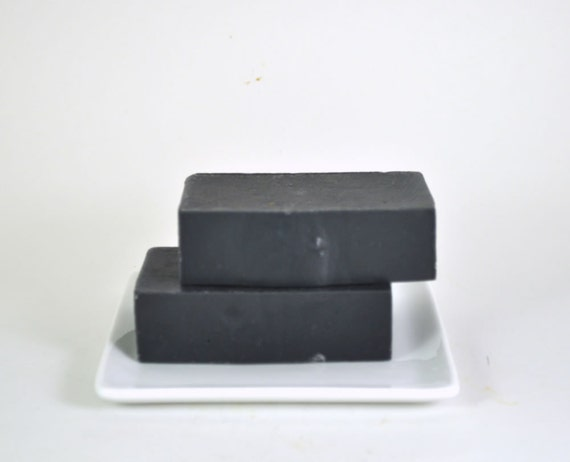 Dead Sea Mud Soap - All Natural Soap - Acne Soap - Tea Tree Oil - Activated Bamboo Charcoal - Soap For Women- Soap For Men