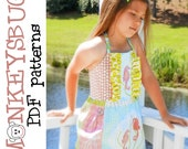 Sunny Swing Pinafore Top PDF eBook Pattern INSTANT DOWNLOAD