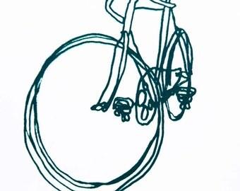 Bike Art Print - Racycle Bicycle