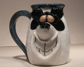 Happy Panda  Bear Mug ....                                        e273